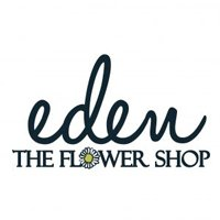 Logo eden the flower shop